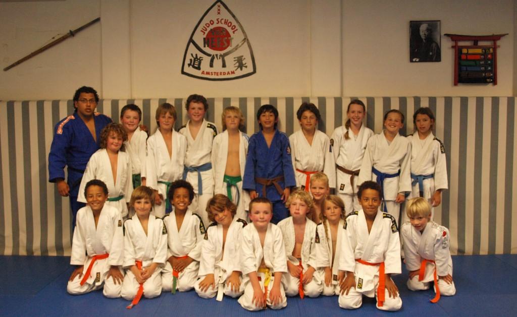 de jeugd judoka's 2012