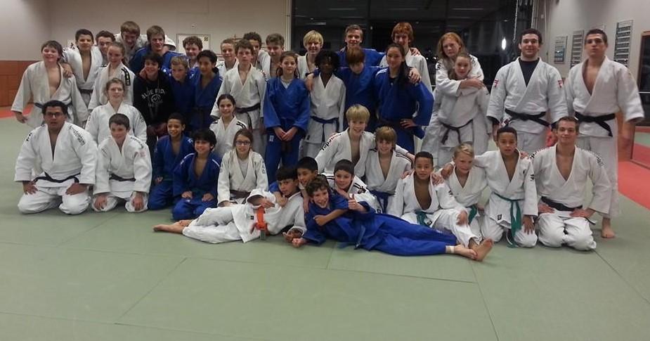 De judoka's van TopJudo Amsterdam