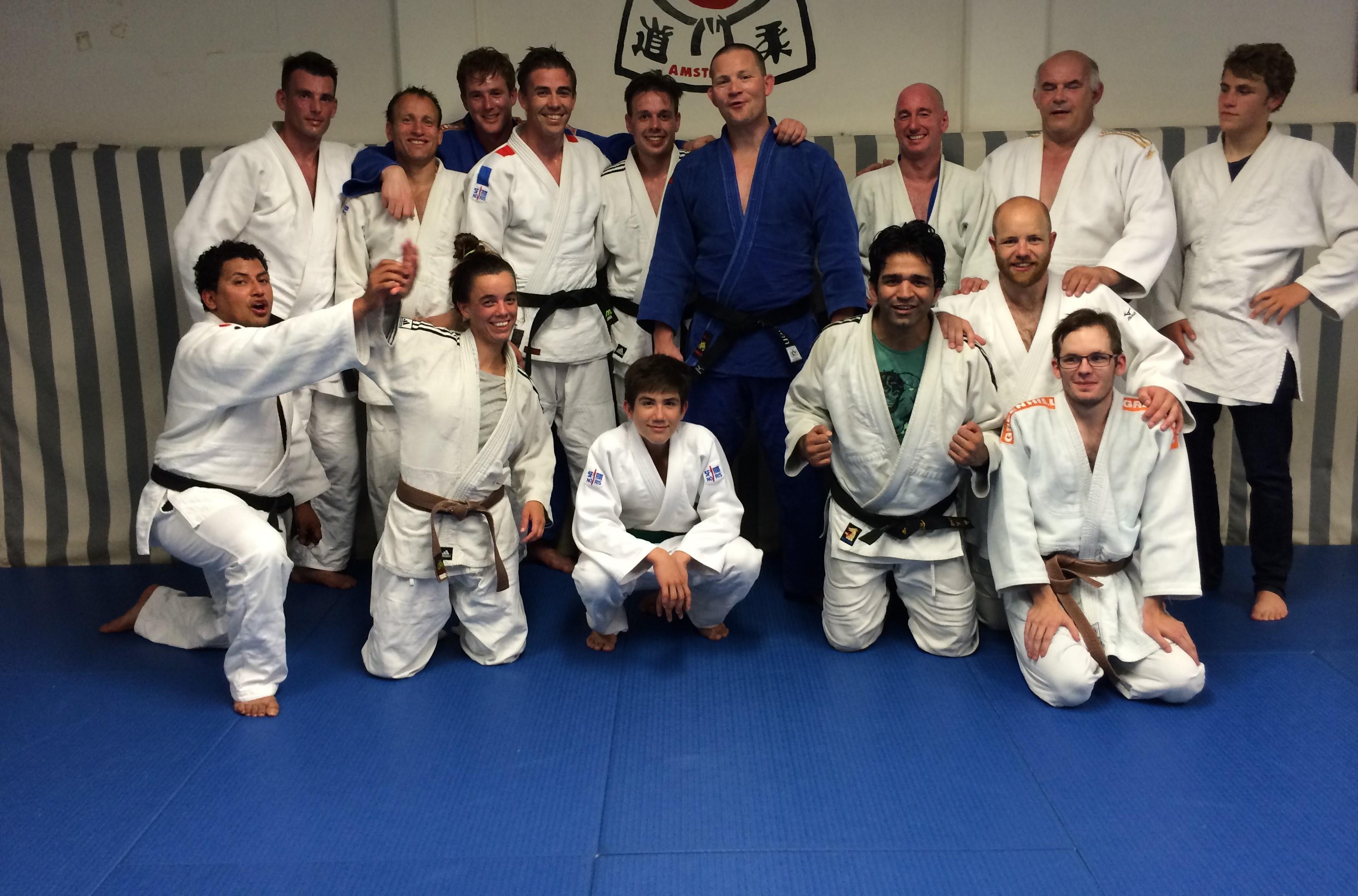 de senioren van Judoschool van Heest