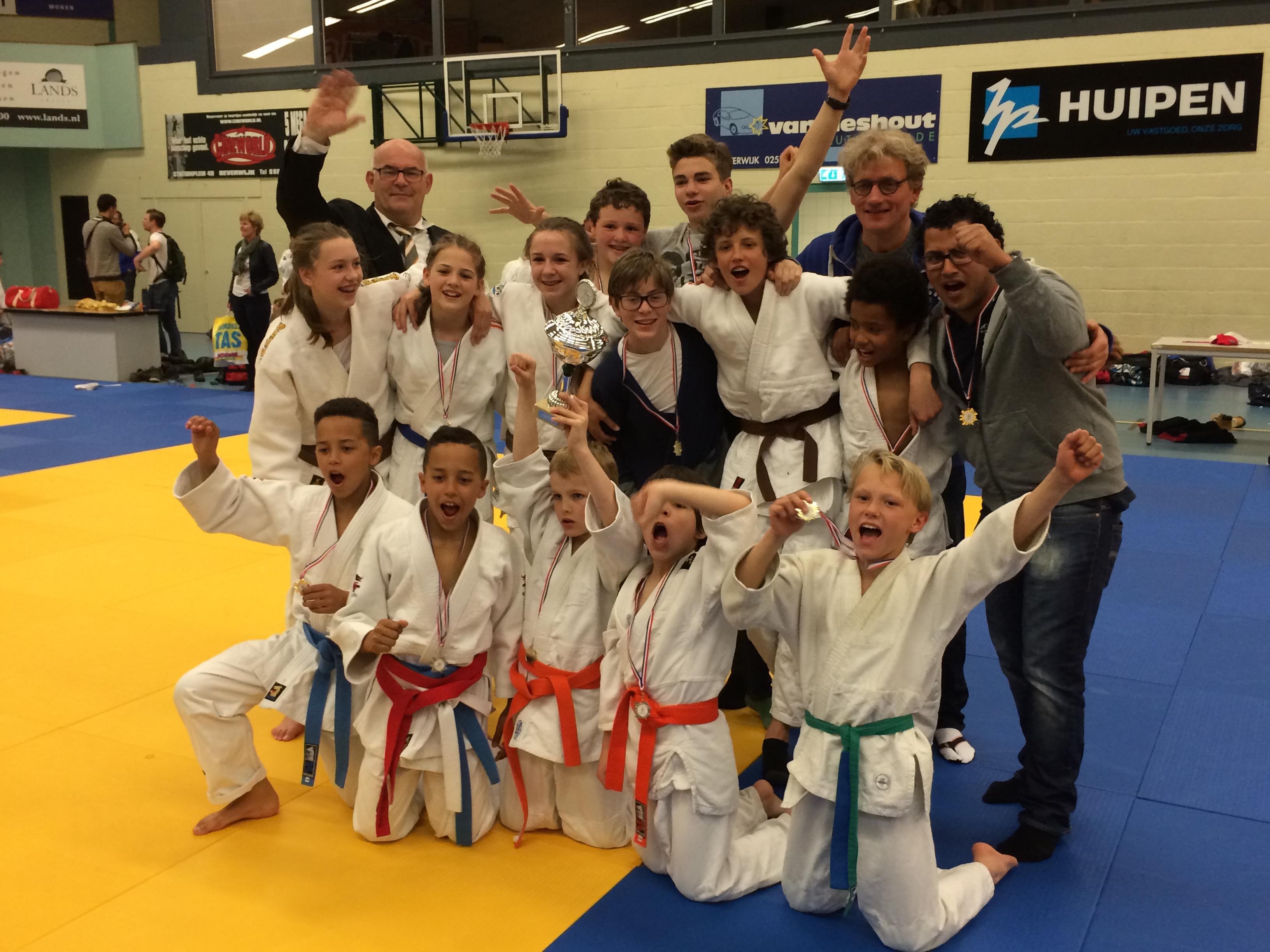 Jeugd Judoschool van Heest Kampioen in de competitie