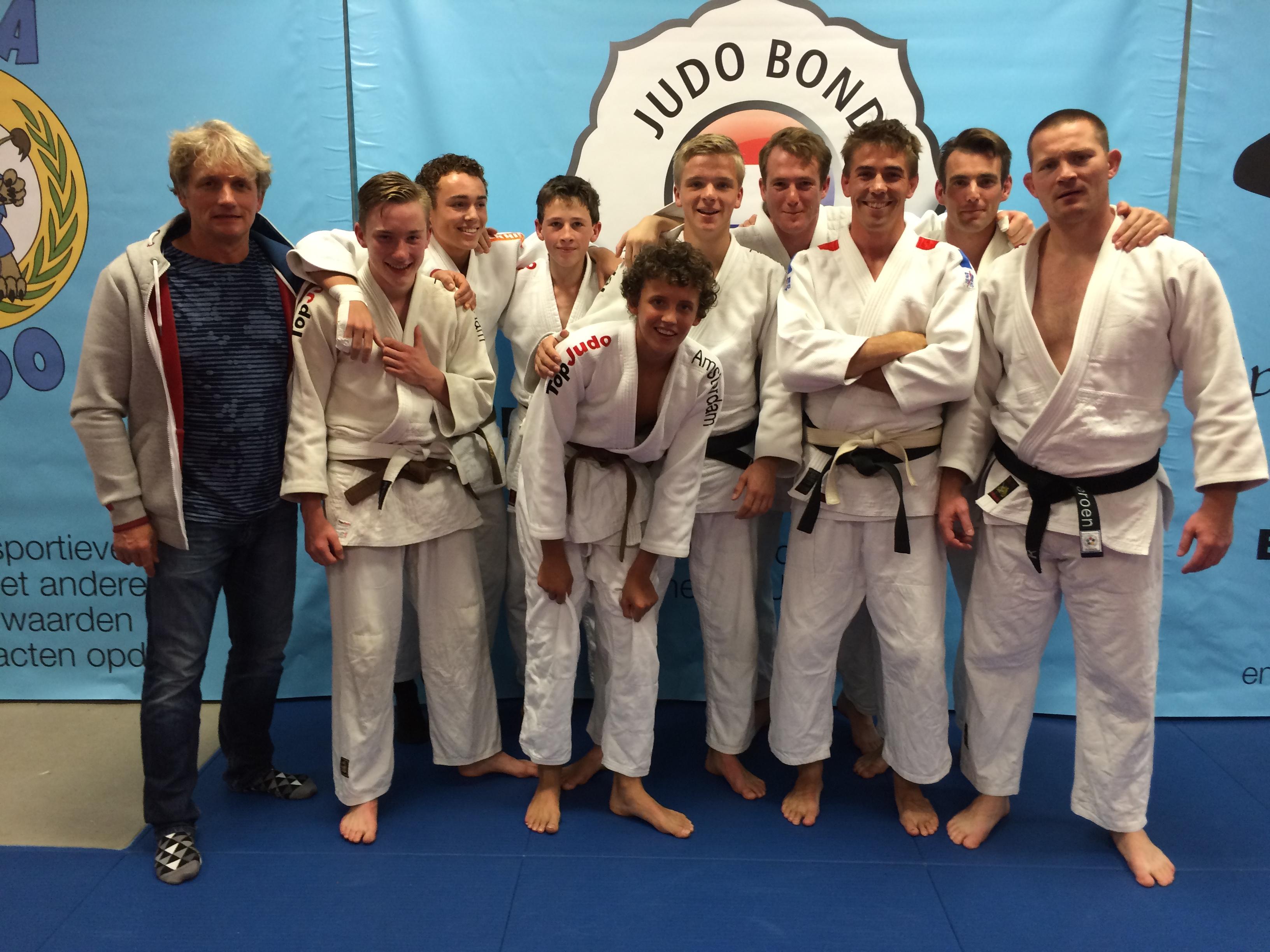 Judoschool van Heest actief in de competitie